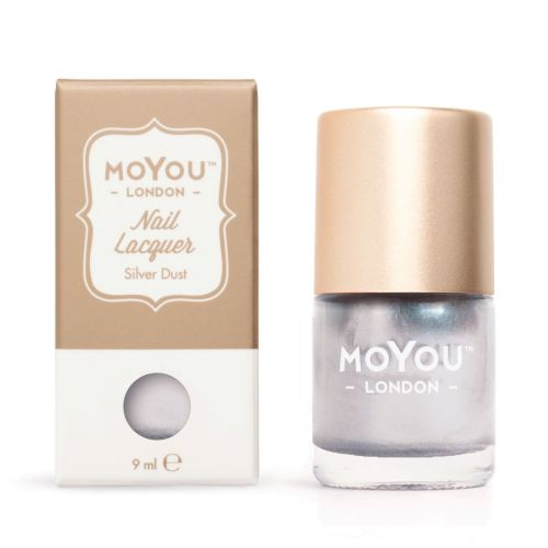 MoYou LONDON STAMPING POLISH - SILVER DUST 9ml varnish